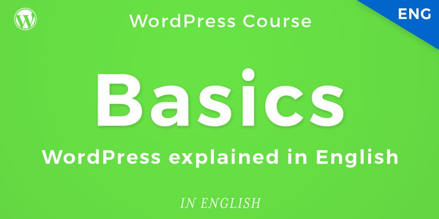 WordPress training course for beginners