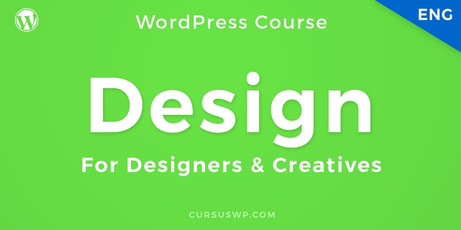 WordPress webdesign for designers and creatives