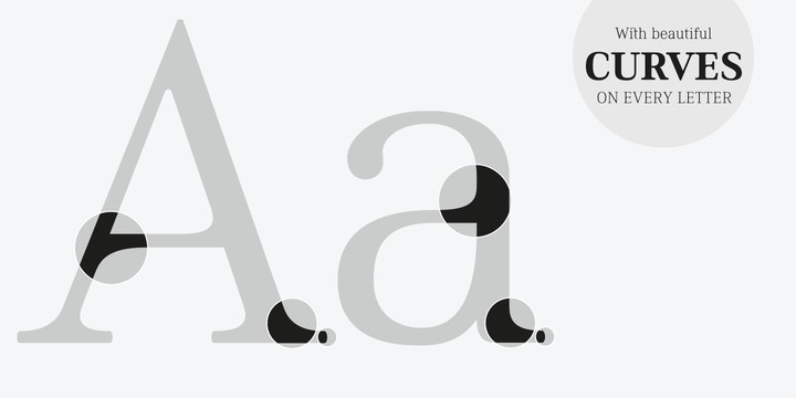 gratis lettertype - Ethos