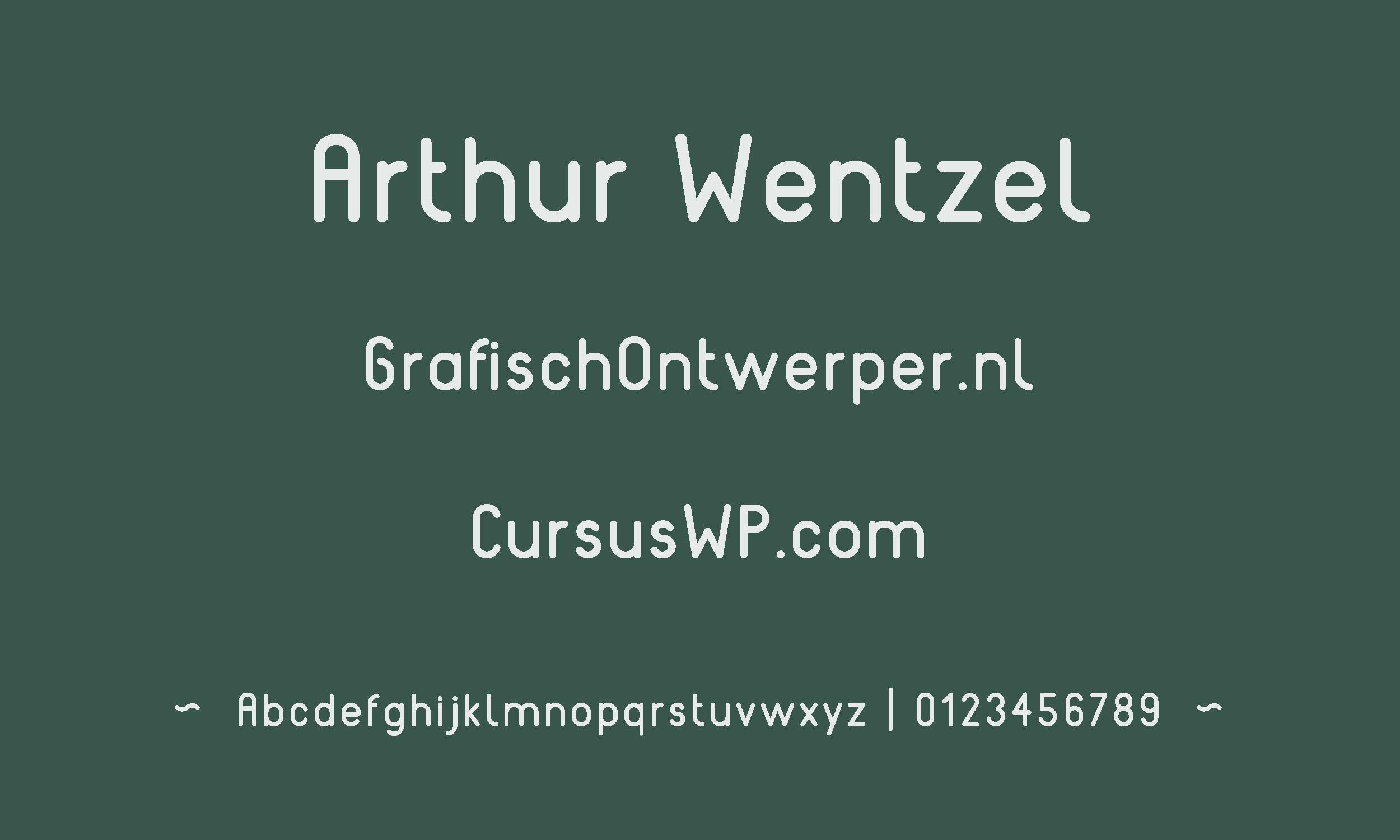 gratis lettertype - reef