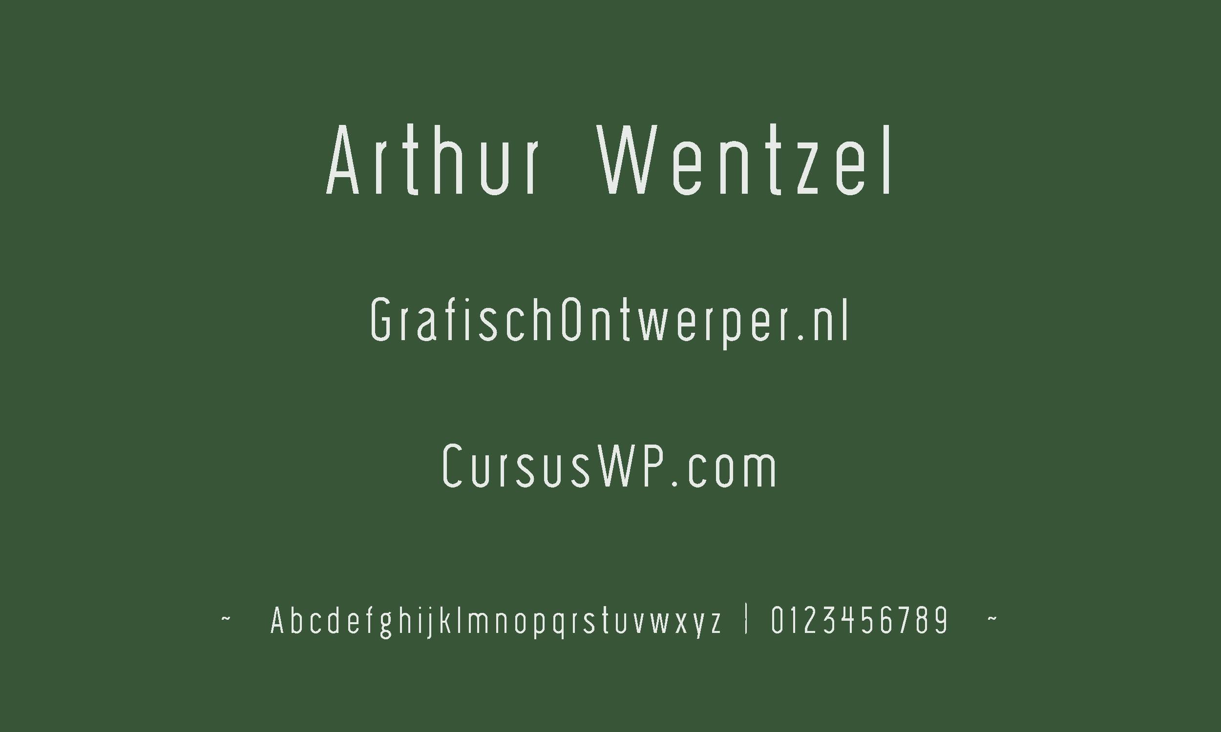 gratis lettertype - Wask_New