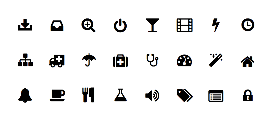 icons van Font Awesome