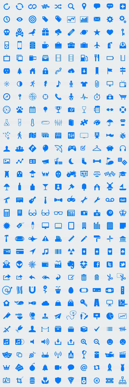 icons van glyphish