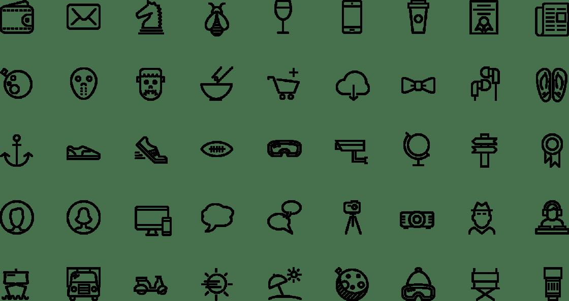 icons van iconsmind