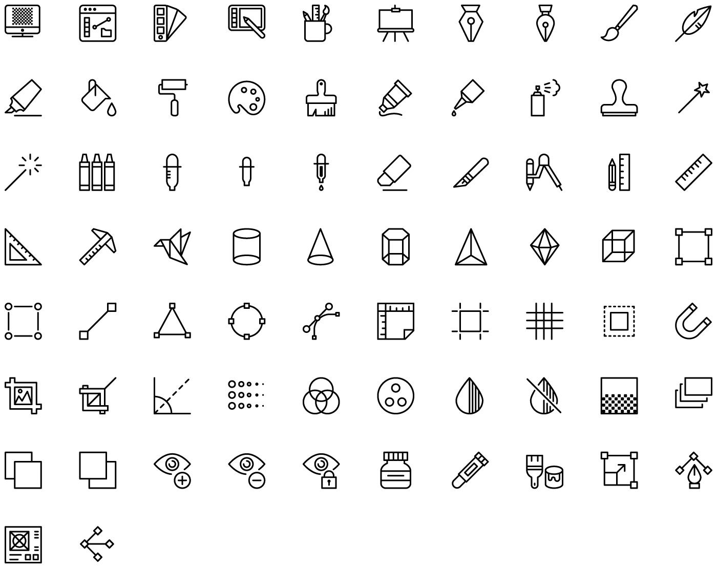 icons van Streamline
