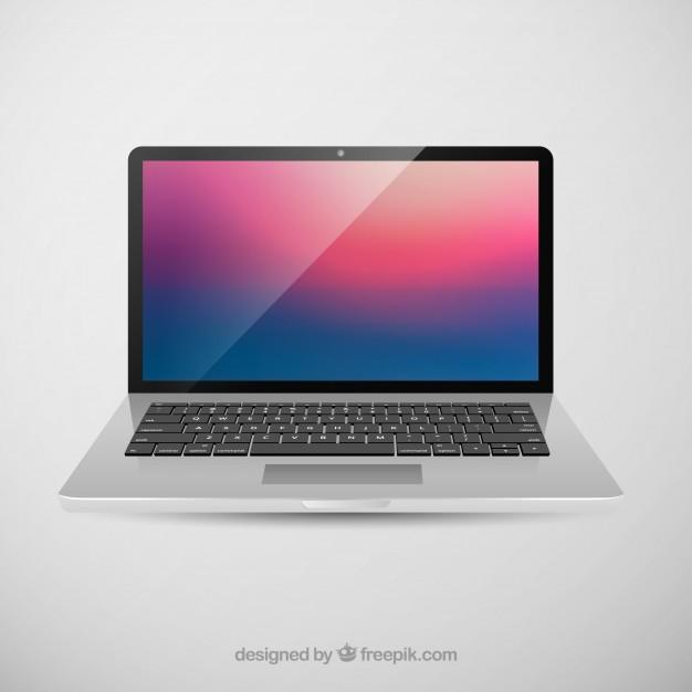 Laptop Photoshop Mock-up