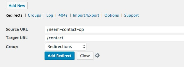 redirect doorverwijzing wordpress plugin