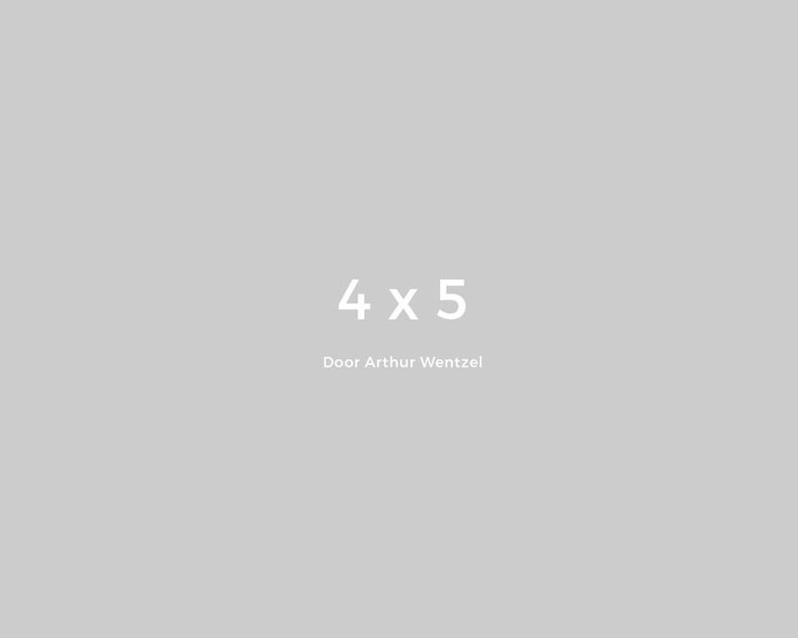 verhouding 4x5