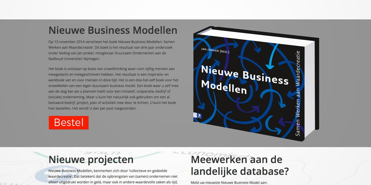 website webdesign Business modellen