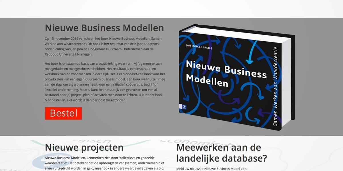 website webdesign Business modellen
