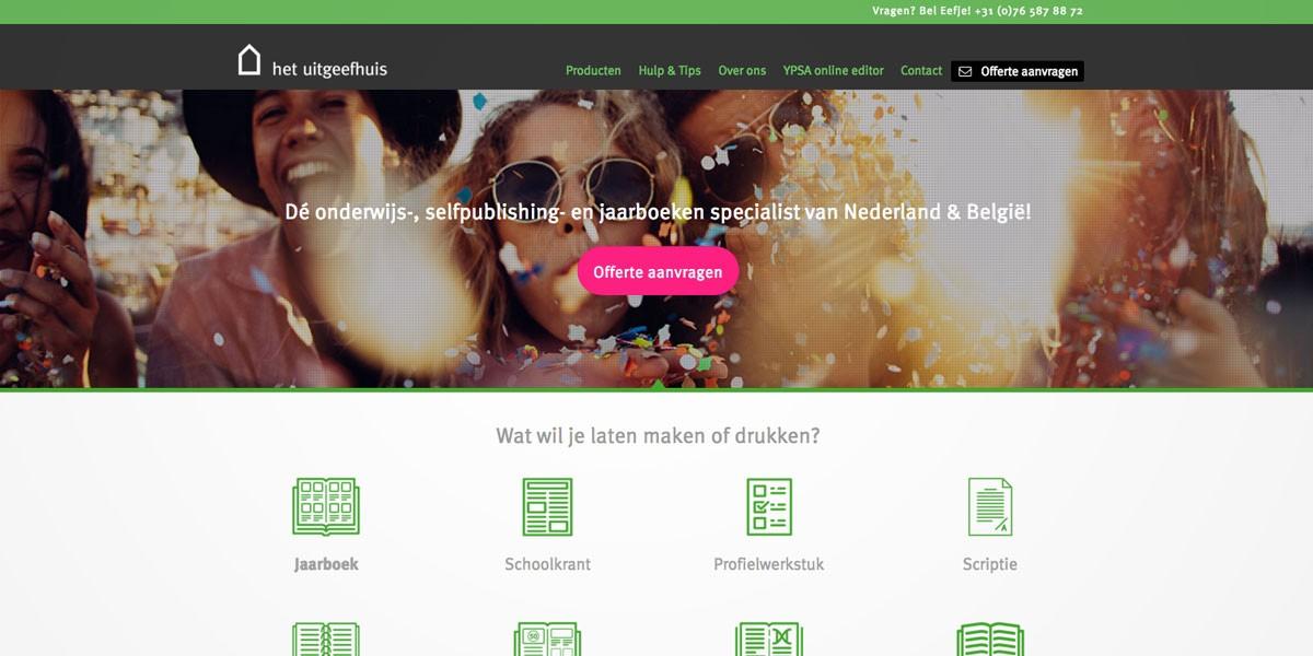 website webdesign uitgeefhuis