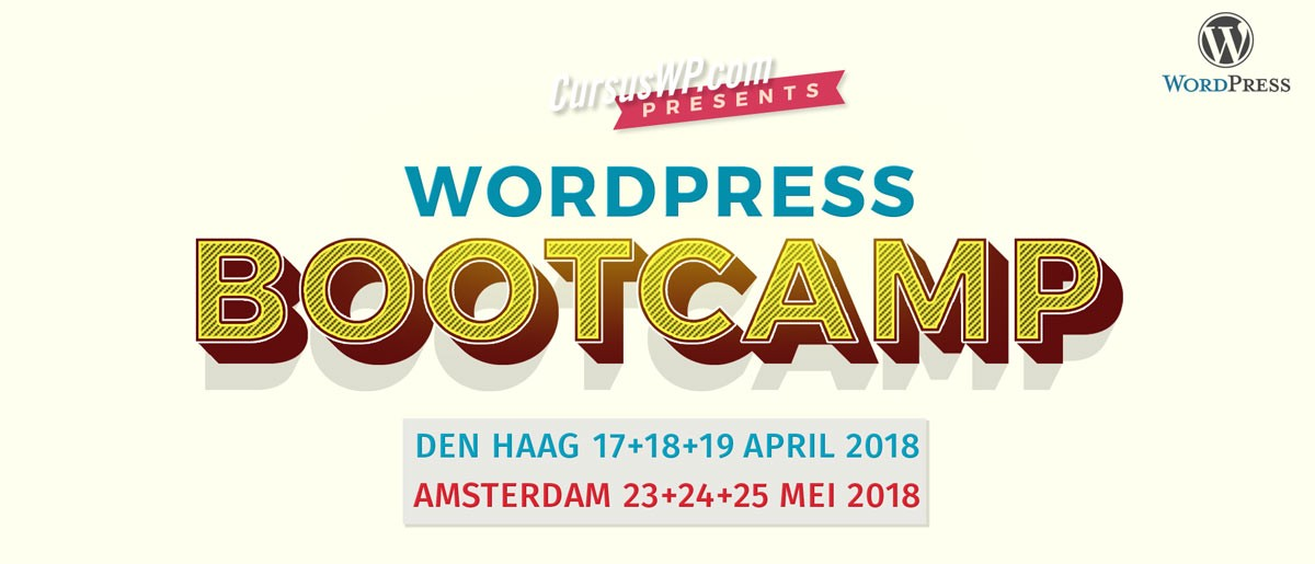 Cursus WordPress training workshop
