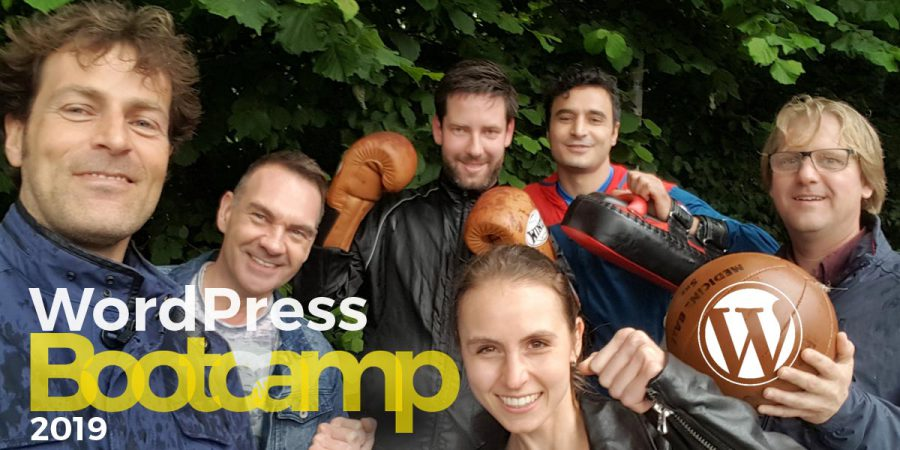 WordPress bootcamp cursus training 2020 in Amsterdam, Den Haag en Antwerpen