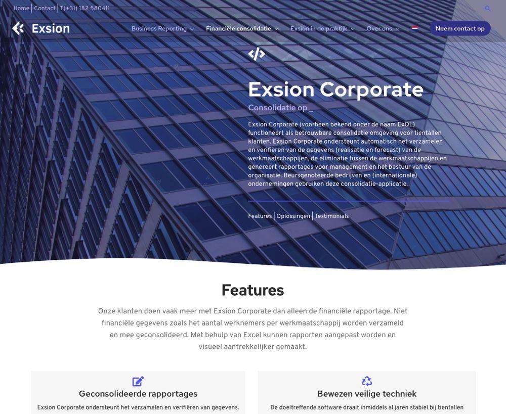 Goede homepage maken voor WordPress website | webdesign trend