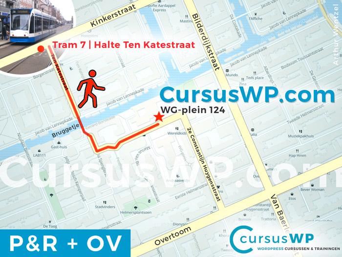 cursus training workshop website maken amsterdam park ride openbaar vervoer