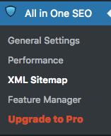 xml sitemap maken instellingen handleiding